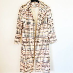 Halogen  Embroidered Long Coat